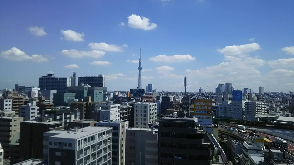 宮嶋社会保険労務士事務所からの風景